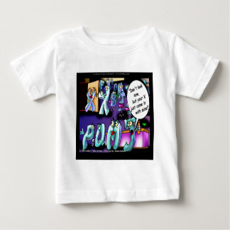 Funny Divorce My Ex & Yours Baby T-Shirt