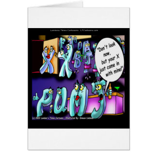 Funny Divorce My Ex & Yours Card