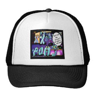Funny Divorce My Ex & Yours Trucker Hat