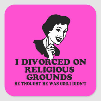 Funny divorce stickers
