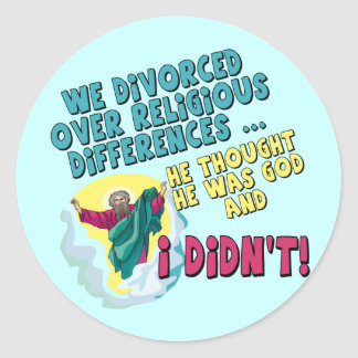 Funny Divorced T-shirts and Gifts For Her Sticker