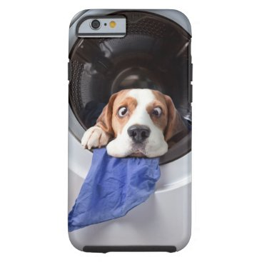 Funny dizzy beagle delicate washing tough iPhone 6 case