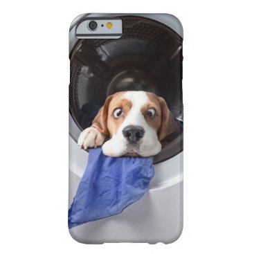 Funny dizzy beagle delicate washing barely there iPhone 6 case