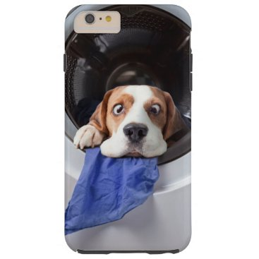 Funny dizzy beagle delicate washing tough iPhone 6 plus case