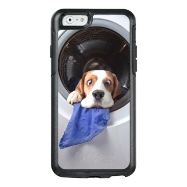 Funny dizzy beagle delicate washing OtterBox iPhone 6/6s case