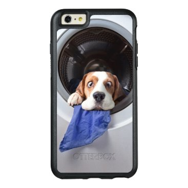 Funny dizzy beagle delicate washing OtterBox iPhone 6/6s plus case