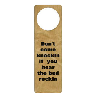 Funny Do Not Disturb Door Hanger
