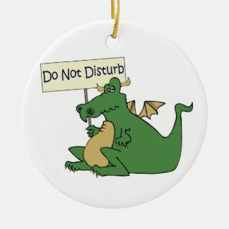 Funny Do Not Disturb Door Hanger Ornament