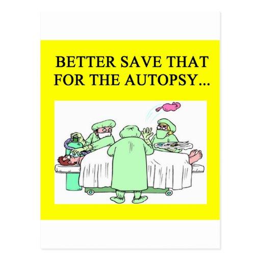 funny doctor humor postcard