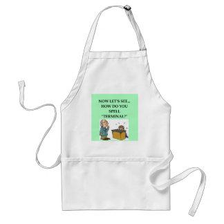 funny doctor joke apron