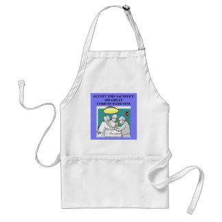 Funny doctor joke! adult apron