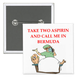 funny doctor joke 2 inch square button