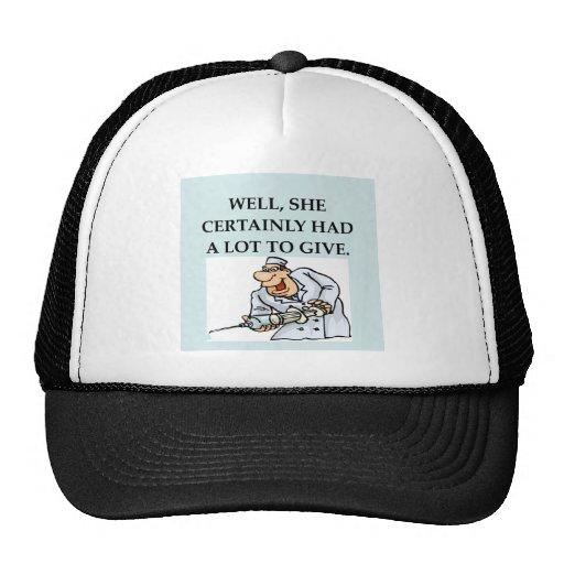 funny doctor joke hats