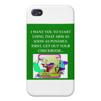 funny doctor joke iPhone 4 cases