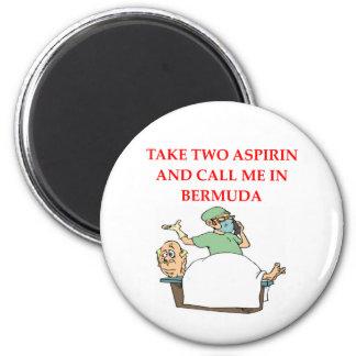 funny doctor joke fridge magnets