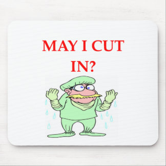 funny doctor joke mouse pads
