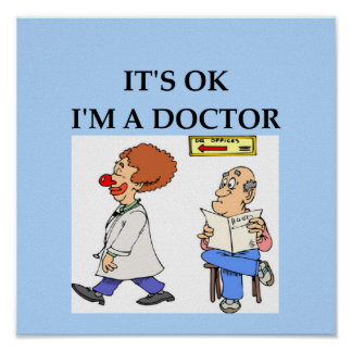 funny doctor joke print