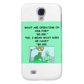 funny doctor joke samsung galaxy s4 cases