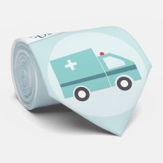 Funny Doctor Medical Physician Monogram Tie at Zazzle