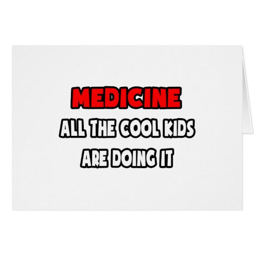 Funny Doctor Shirts and Gifts Greeting Card