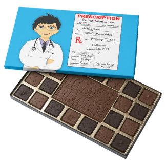 Funny Doctor's Prescription 50th Birthday Gift 45 Piece Box Of Chocolates