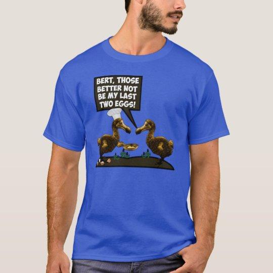 Funny Dodo extinction T-Shirt