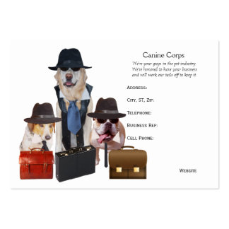 Funny Dog Business Cards