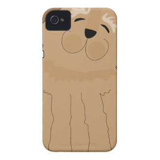 Funny Dog iPhone 4 Cover