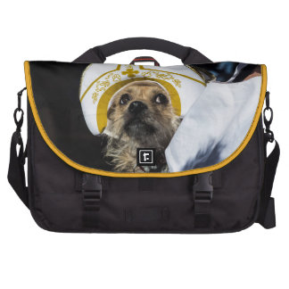Funny Dog Costume Gifts Laptop Bags