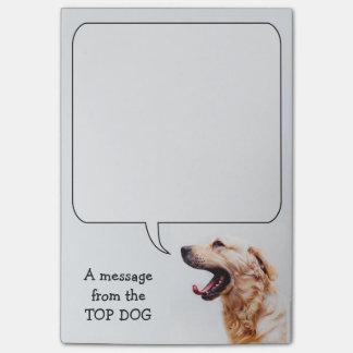 Funny Dog custom Post-It notes