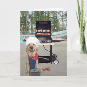 Funny Dog Father's Day Card