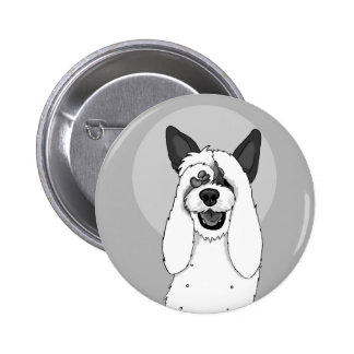 Funny Dog IV 2 Inch Round Button