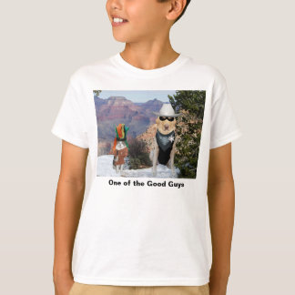Funny Dog/Lab Good Guy Hero T-Shirt