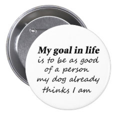 Funny dog lover pet humor gifts novelty buttons at Zazzle