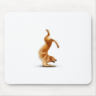 Funny dog mouse pad