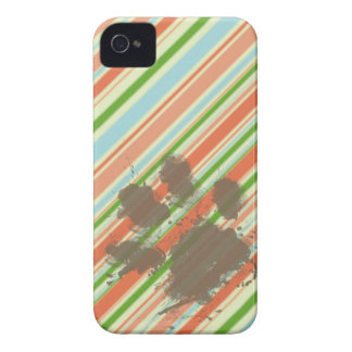 Funny Dog Owner Gift Peach Forest Green iPhone 4 Cases