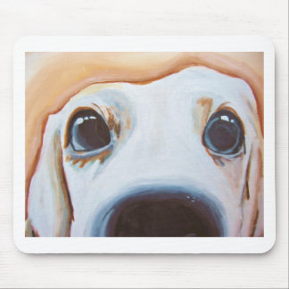 Funny Dog Painting Mouse Pad