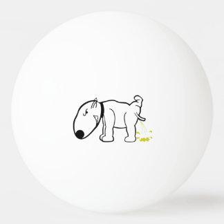 Funny Dog Peeing Ping or Beer Pong Ball Ping Pong Ball