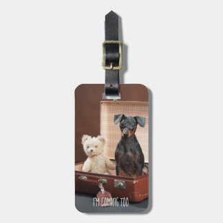 Funny Dog Personalized Luggage TAG