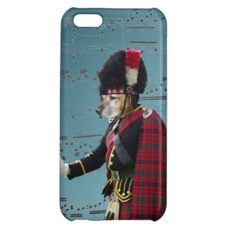 Funny dog pipe major case for iPhone 5C