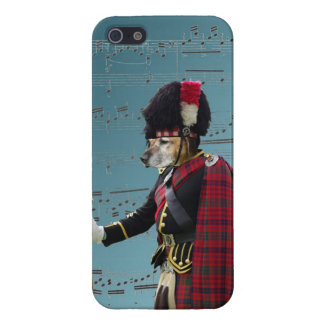 Funny dog pipe major case for iPhone SE/5/5s