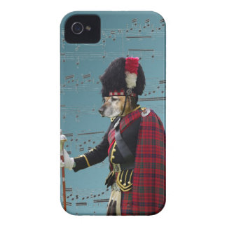 Funny dog pipe major Case-Mate iPhone 4 case