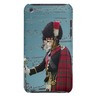 Funny dog pipe major Case-Mate iPod touch case