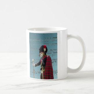 Funny dog pipe major coffee mug