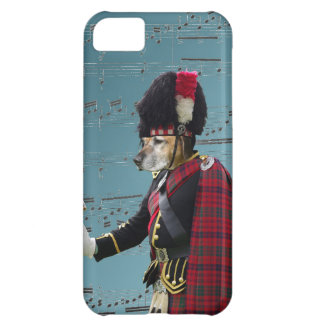 Funny dog pipe major cover for iPhone 5C