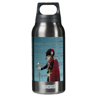 Funny dog pipe major insulated water bottle
