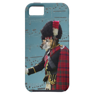 Funny dog pipe major iPhone SE/5/5s case