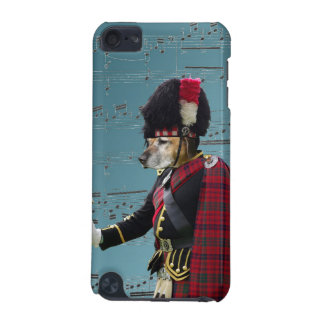 Funny dog pipe major iPod touch 5G cases