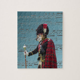 Funny dog pipe major puzzle