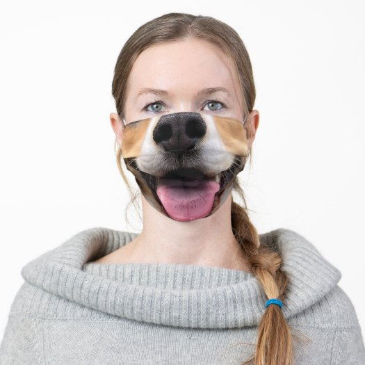 dog puppy nose mouth smile muzzle funny face mask